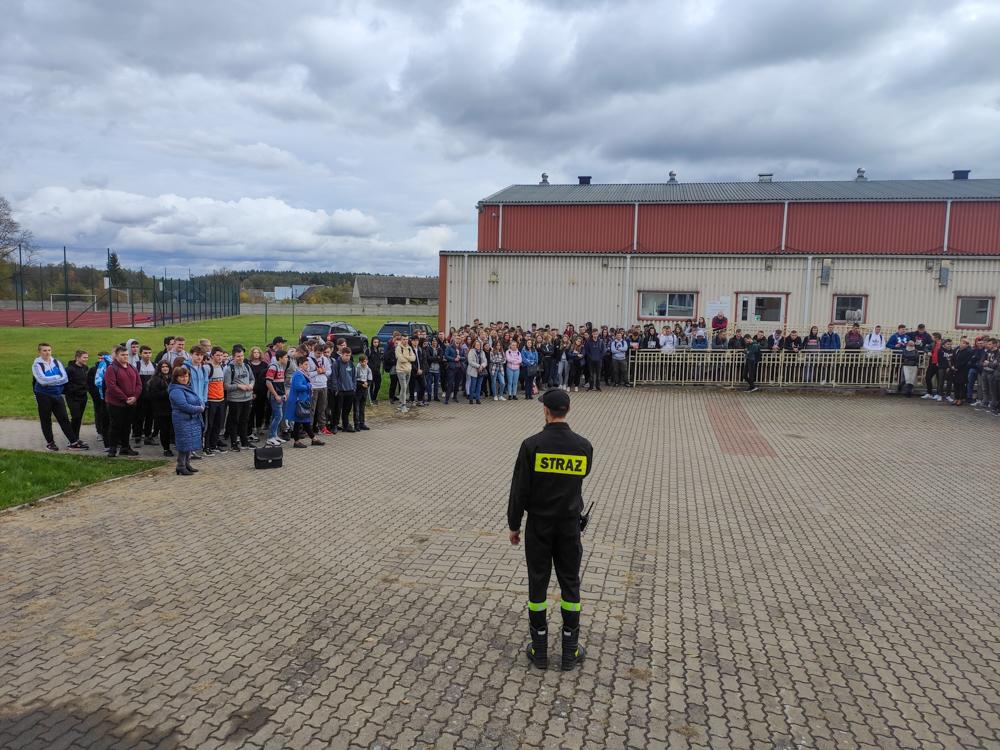 Ewakuacja w szkole – ćwiczenia