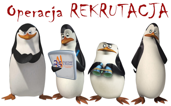 OPERACJA REKRUTACJA – ROZPOCZĘTA !!!